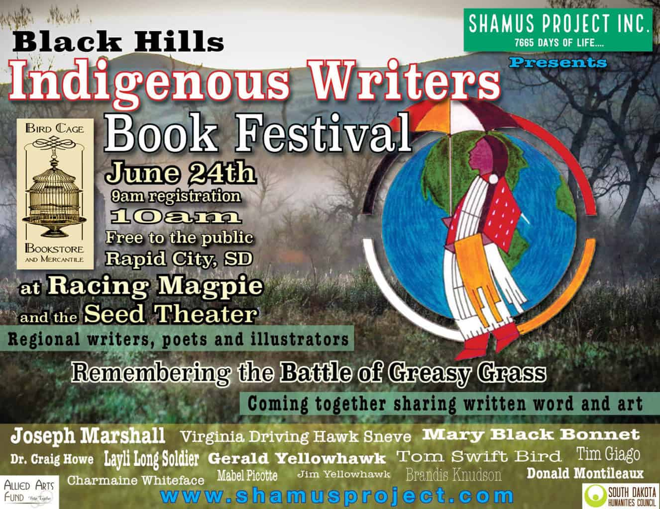 First Annual Black Hills Indigenous Writers Festival – June 24th - PowWows.com – Native American Pow Wows