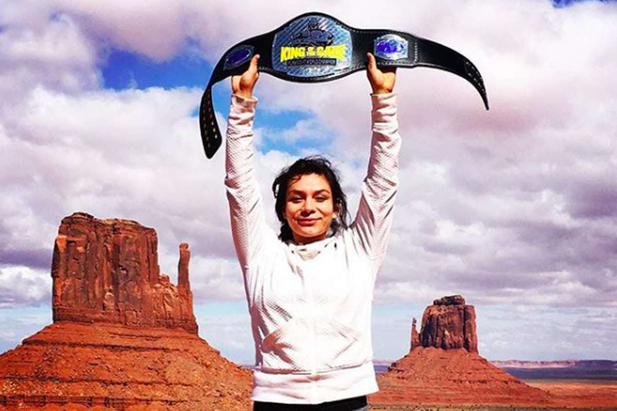 Congratulations to the First Navajo UFC Champion!