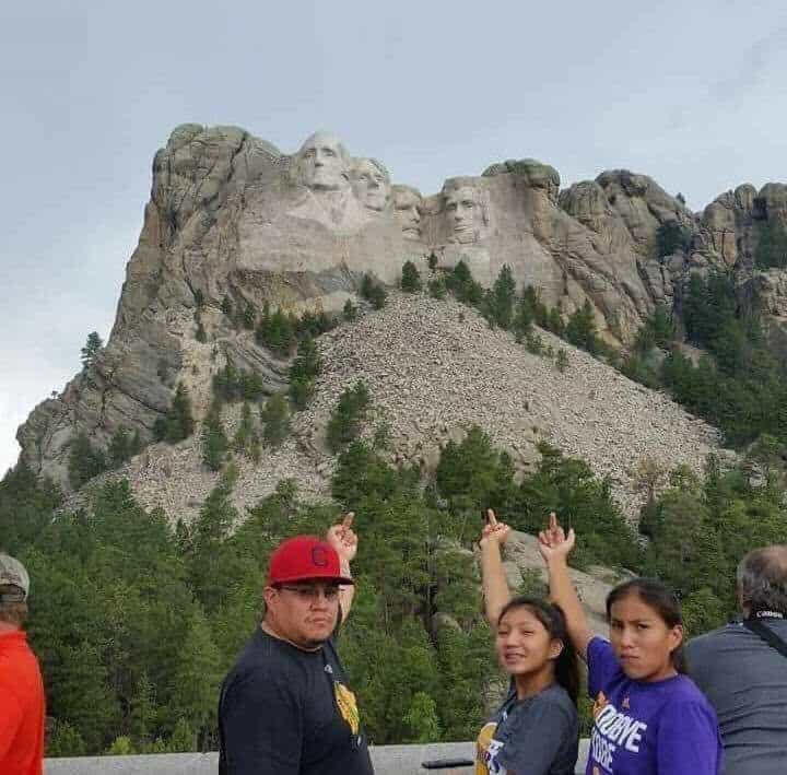 Family's Mount Rushmore Photo Goes Viral