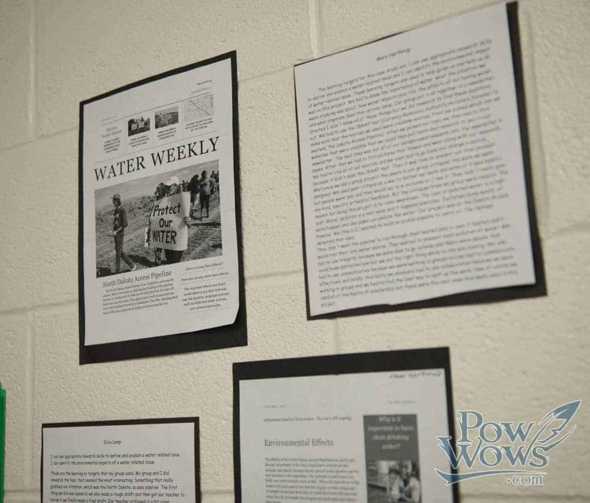 Meadow Glen Middle Students Explore Clean Water