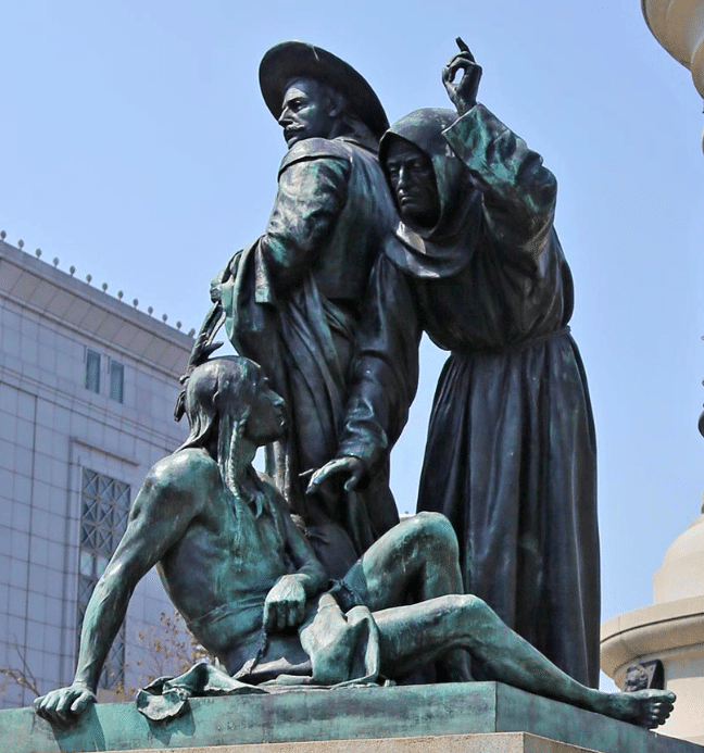 Offensive Pioneer Statue to Native Americans up for Removal!