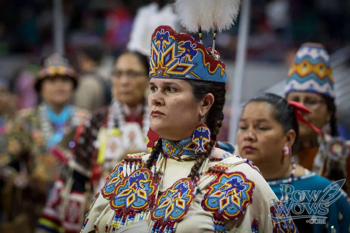 Women's Traditional Dancers – 2017 Denver March Pow Wow - PowWows.com – Native American Pow Wows