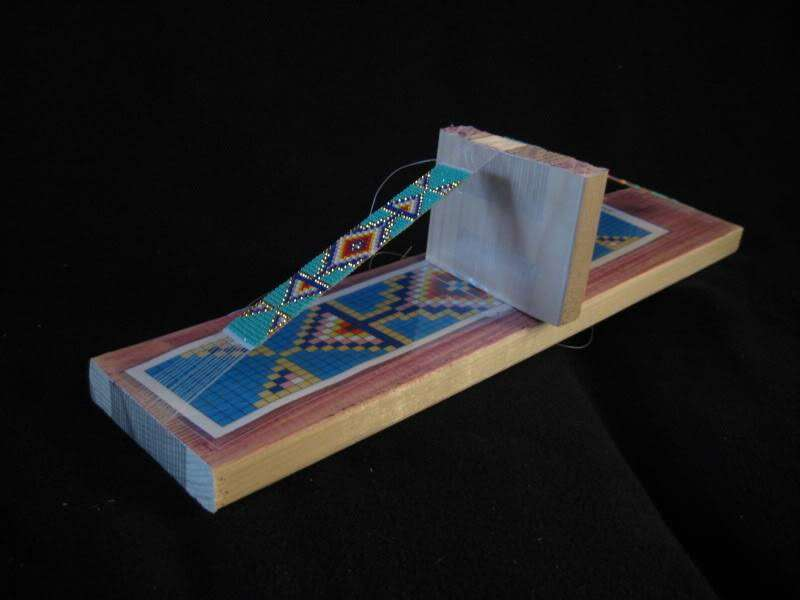 how to make your own bead loom powwows