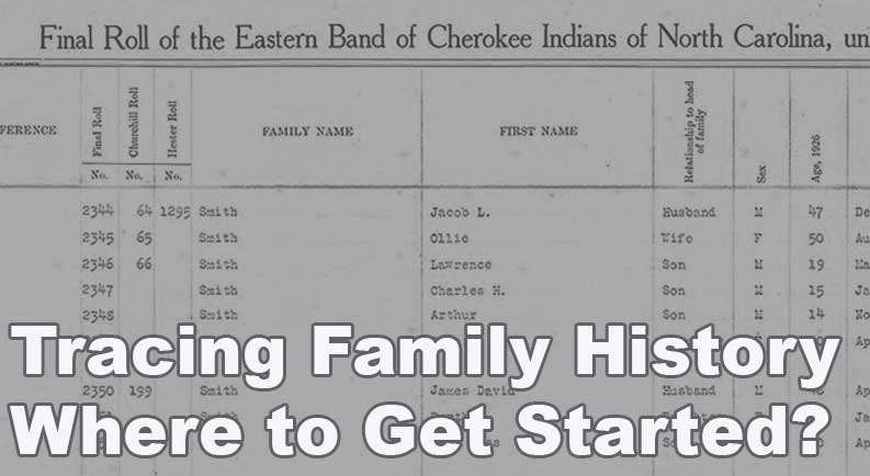 How to get started tracing your Native American heritage?