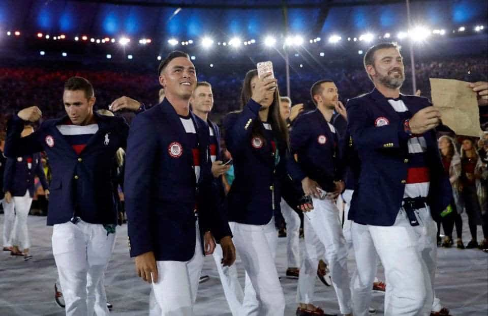 rickie fowler native american in olympics